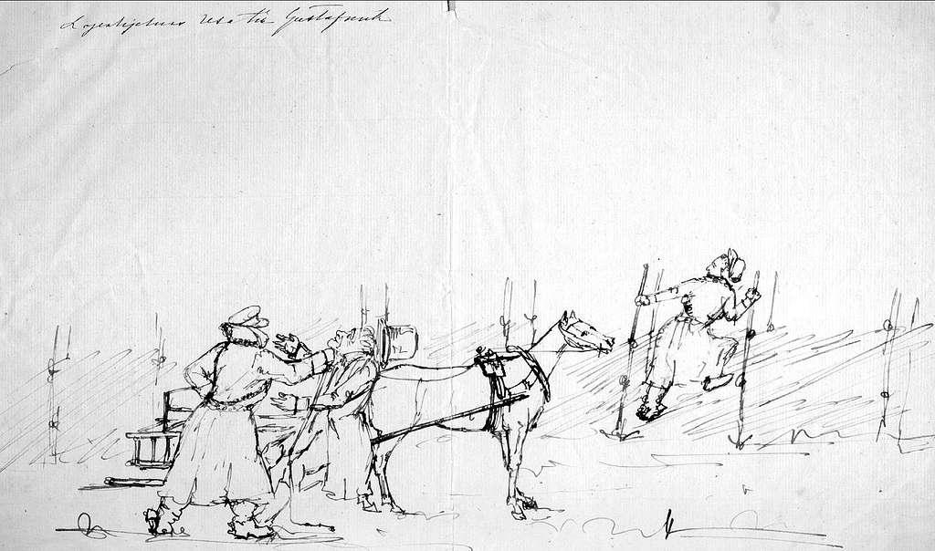 John Arsenius, född 1818. Officer vid K 3 1838-1868. Känd konstnär, framför allt hästmålningar. Söner:  Georg -- Konstnär.  Sam -- Officer, fältjägare. Lagerhielms resa till Gustafsvik.