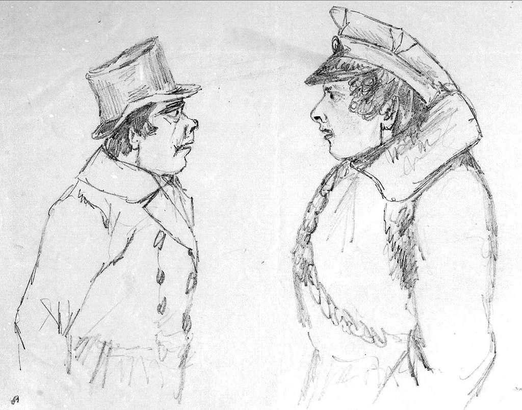 John Arsenius, född 1818. Officer vid K 3 1838-1868. Känd konstnär, framför allt hästmålningar. Söner:  Georg -- Konstnär.  Sam -- Officer, fältjägare.