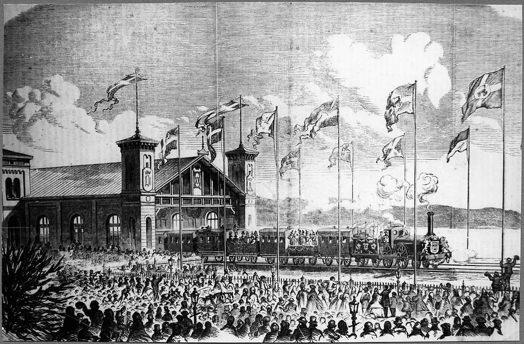 Göteborg C inviges 1856.