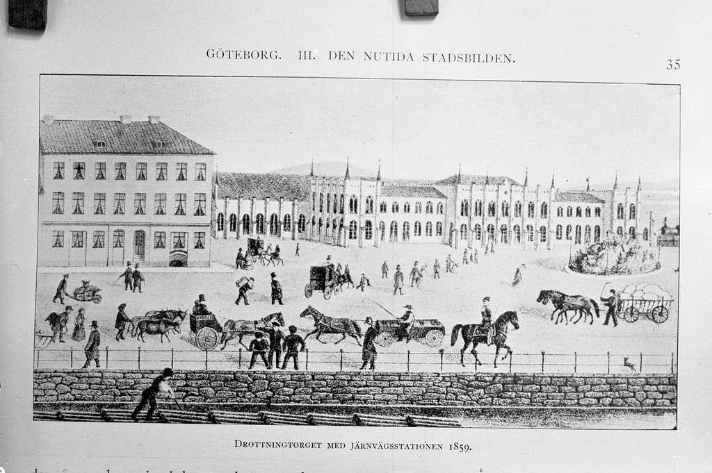 Centralstationen och Drottningtorget