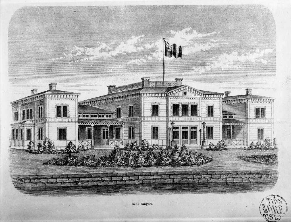 Gefle Bangård 1859.