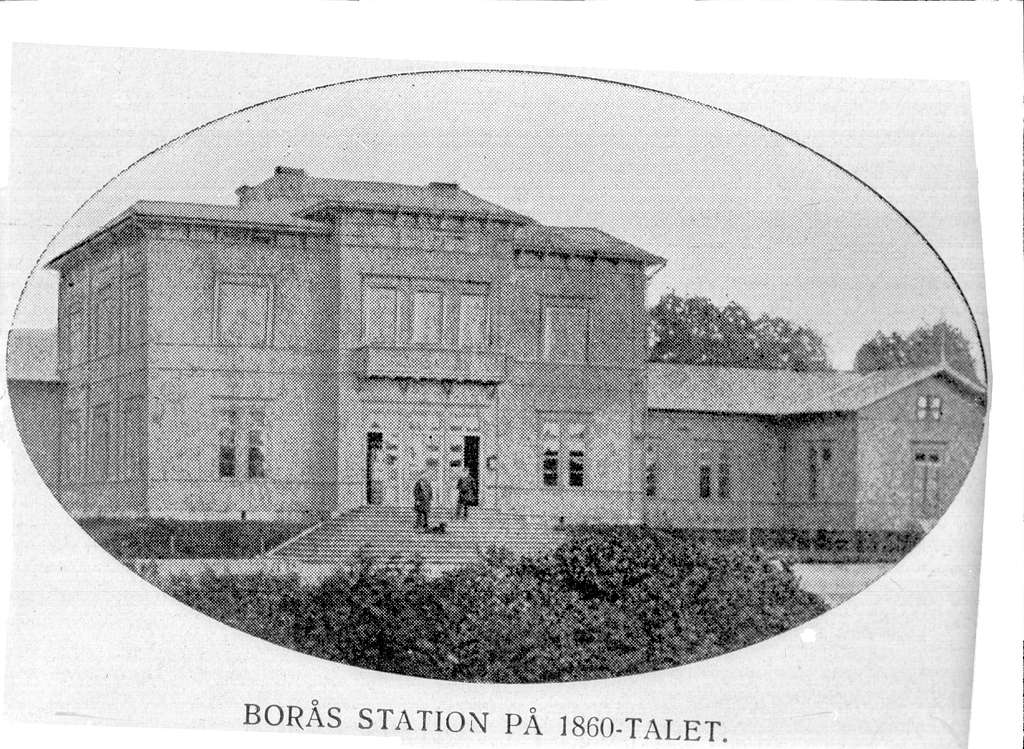 Borås övre stationshus.