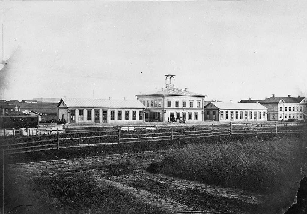 Falköping centralstation.
