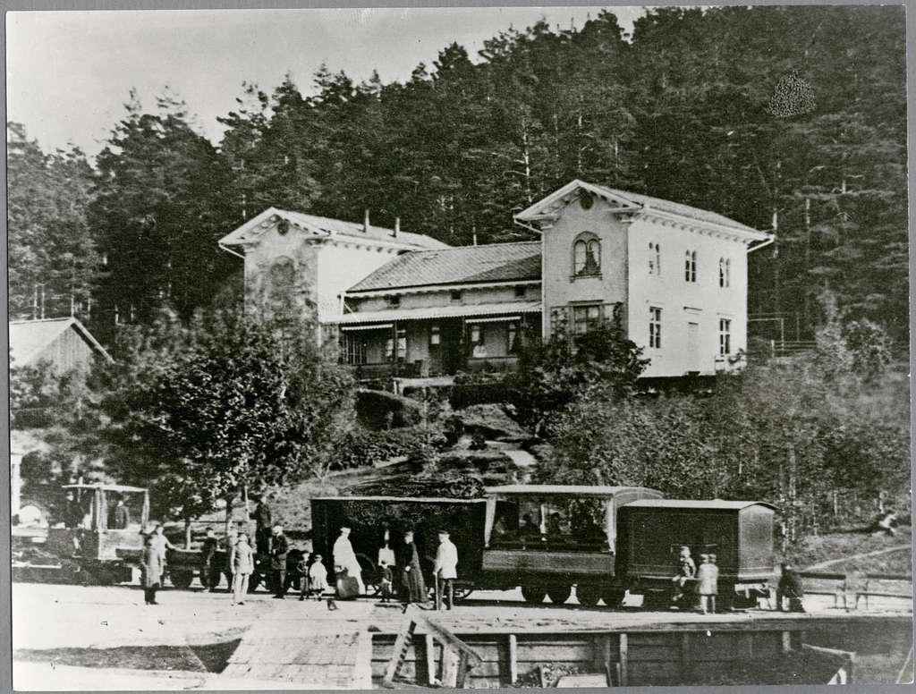 Fryksta station.