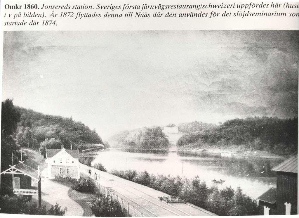 Jonsered station.