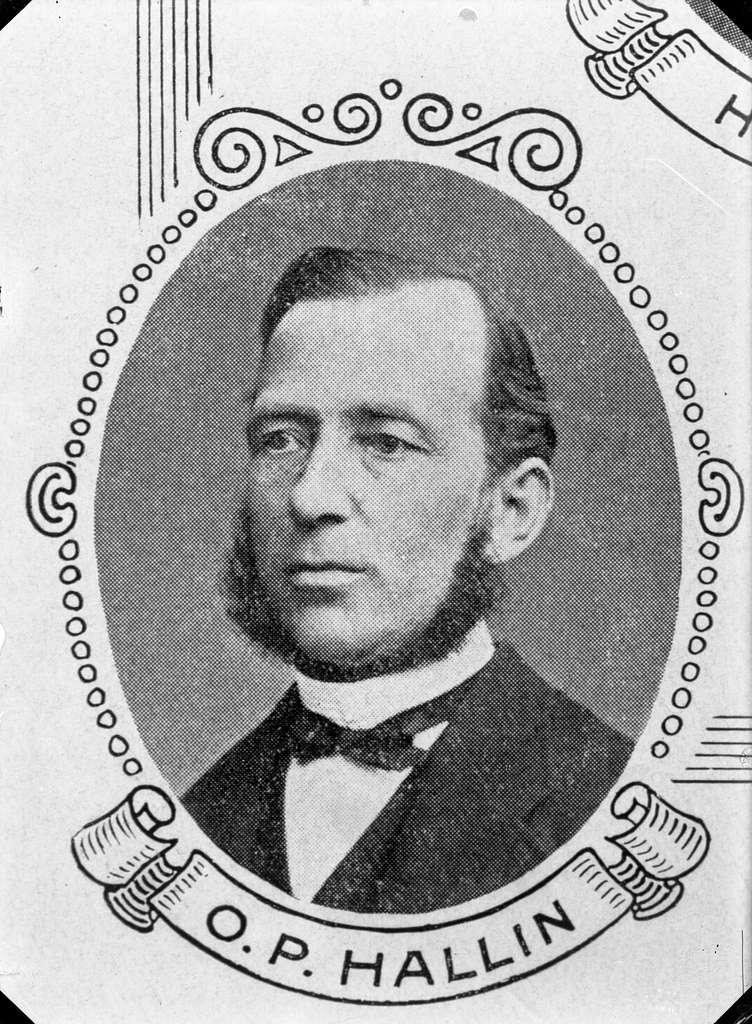 O. P. HallinStyrelsemedlem BHJ 1860-talet(Borås-Herrljunga Järnväg)Smalspår 1219mm fram till 1891, därefter normalspår 1435mm