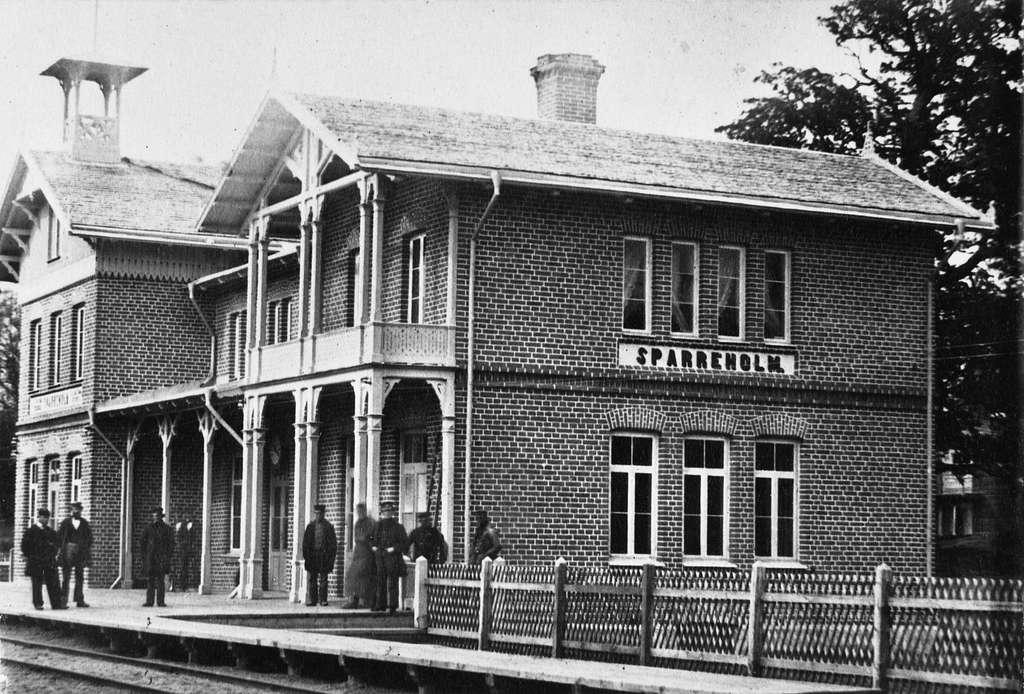 Sparreholm station