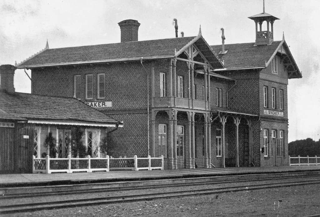 Stationen togs i bruk 1862