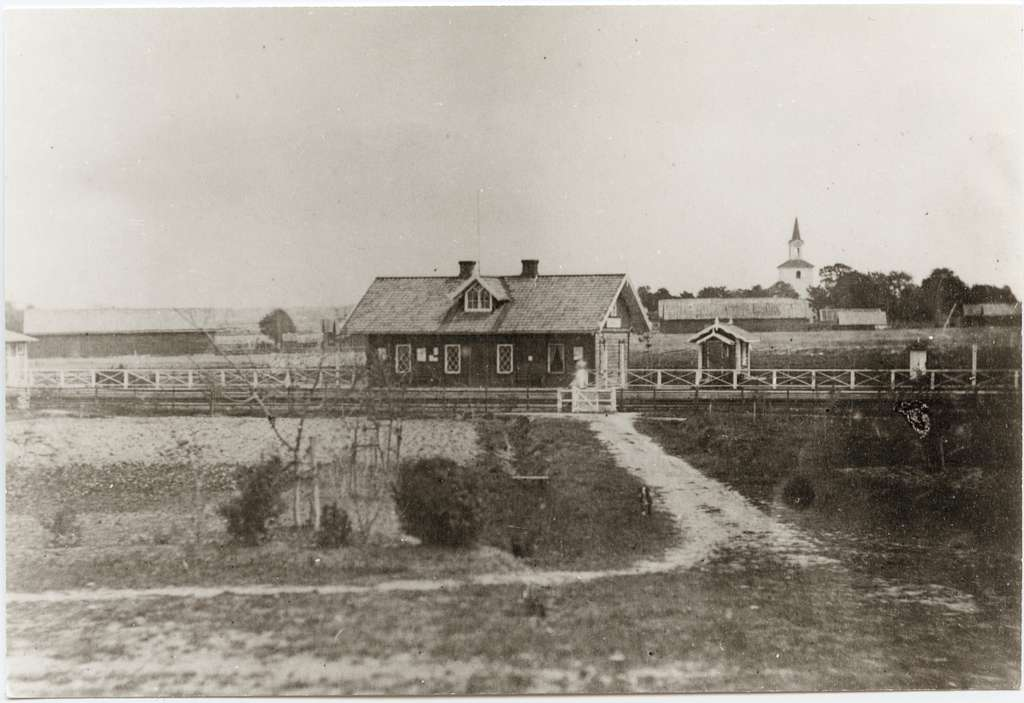 Wäring station. 1860-talet