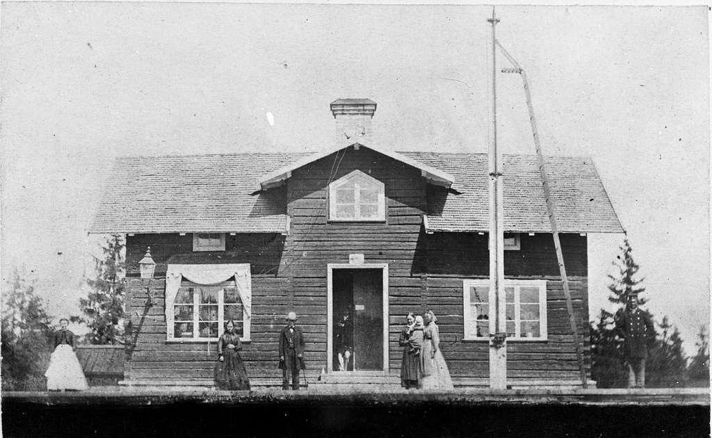 Sandviken station.