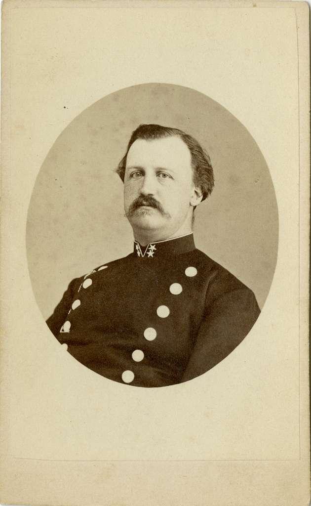 Porträtt av Adolf Henrik Forselius, löjtnant vid Första livgrenadjärregementet I 4.