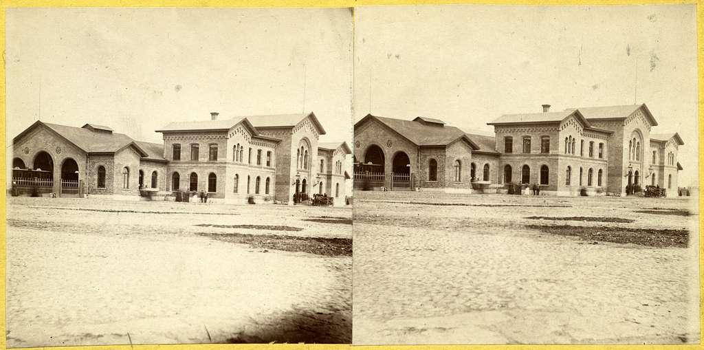 Ystad Stationshus byggt 1864 av den danska byggmästaren Wulff.