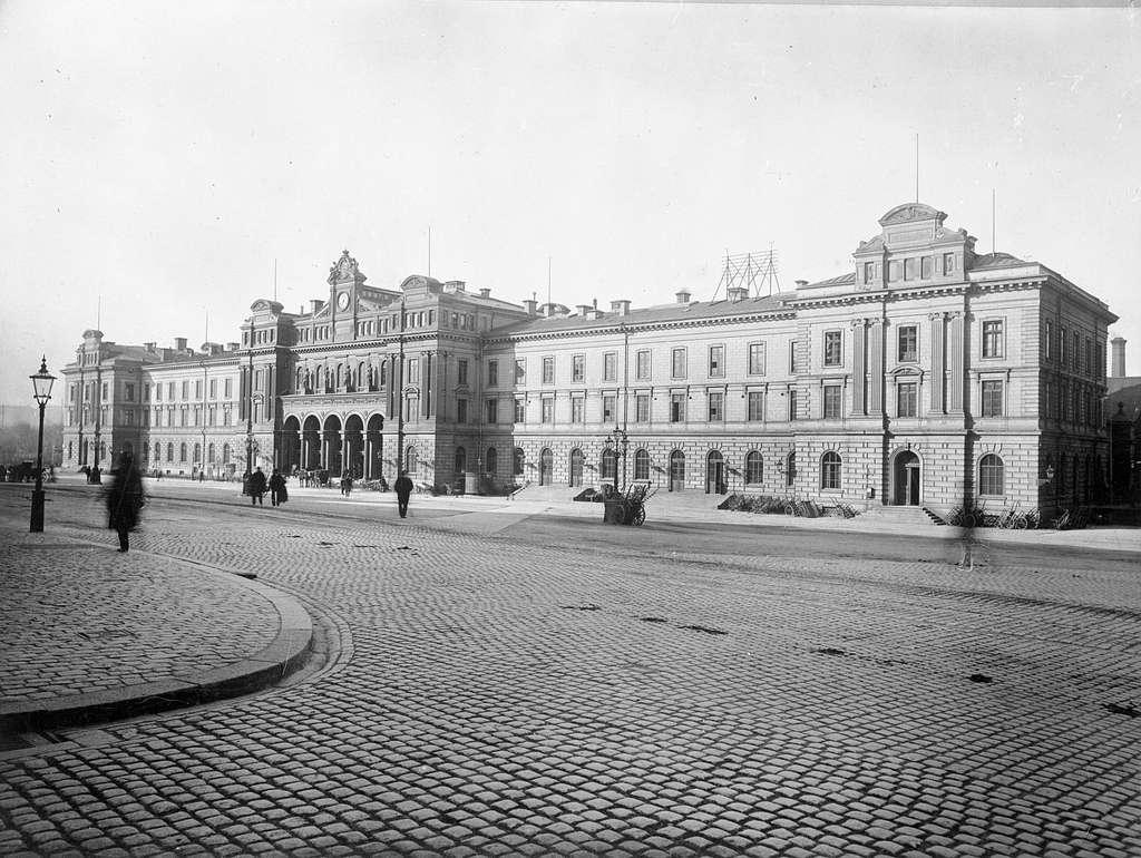 Stockholm Central.