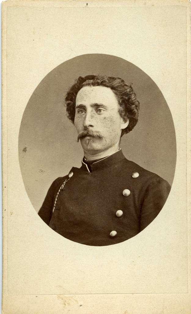 Kabinettsfotografi: sergeant Huitfeldt (Hvitfelt)