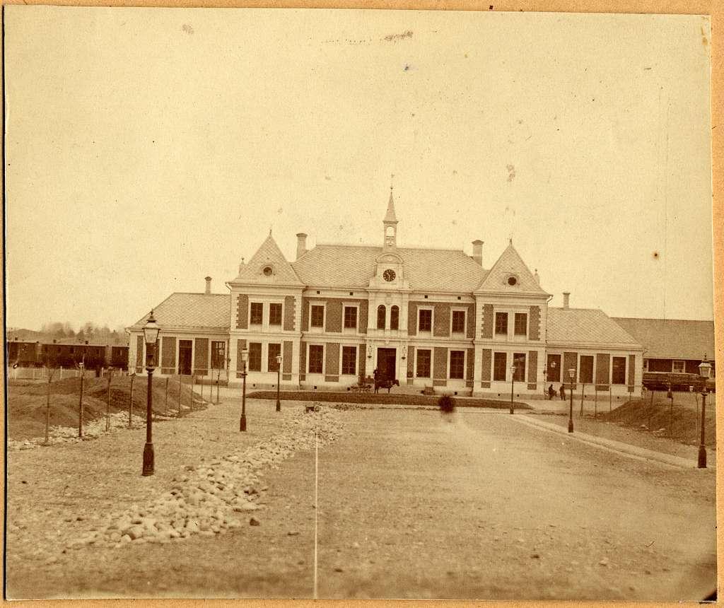 Linköpings stationshus 1872