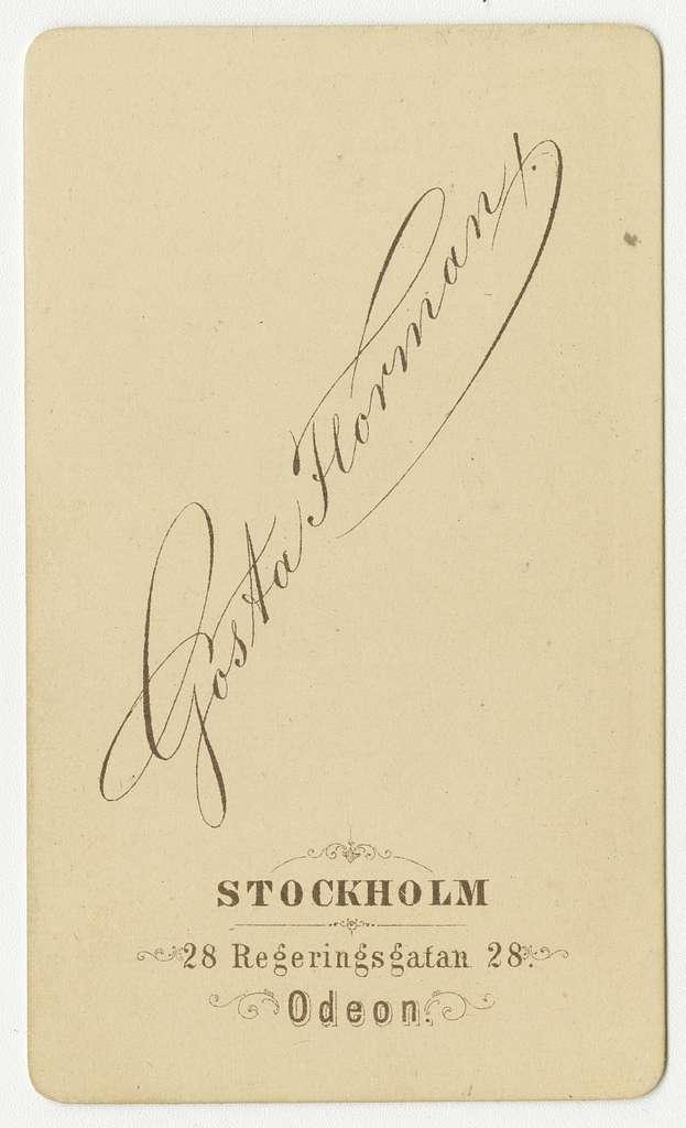 Porträtt av häradshövding Gustaf Magnus Roland Wolffelt.