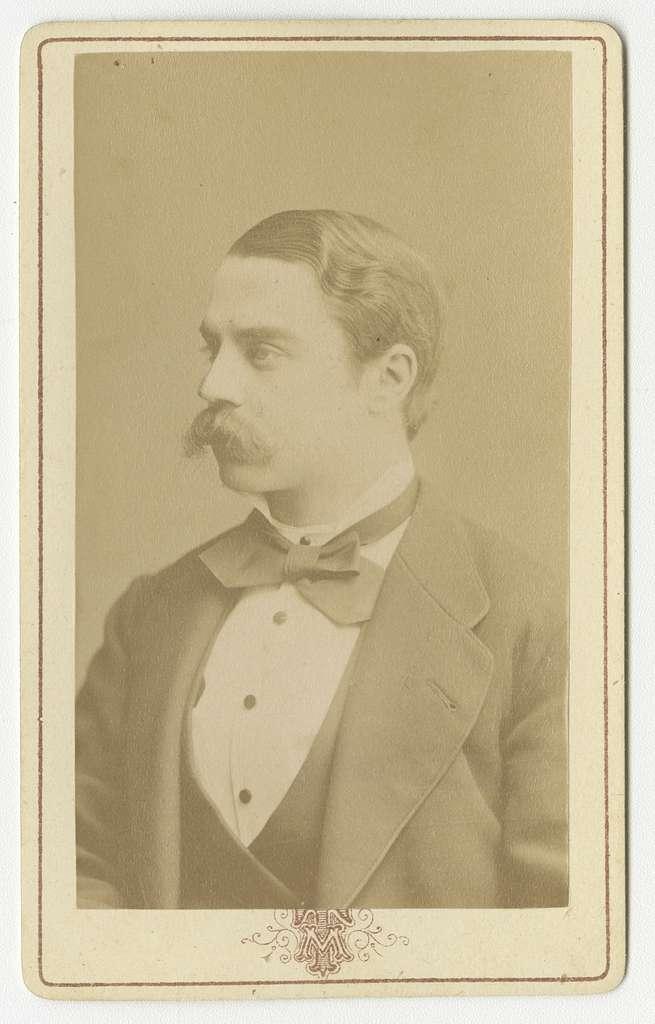 Porträtt av Carl Mauritz Per Scheffer, officer vid Västgöta regemente I 6.Se även bild AMA.0002075, AMA.0008522 och AMA.0008539.