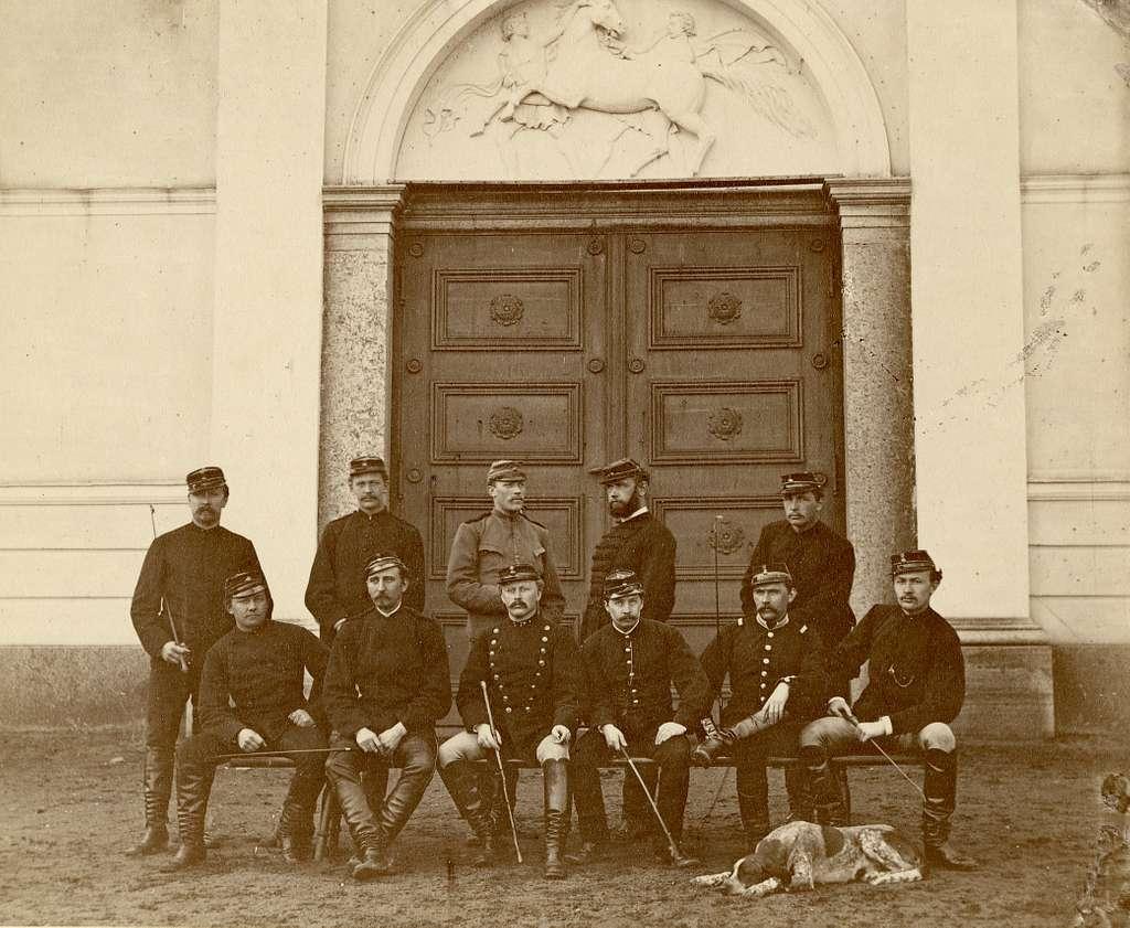Strömsholm 1876. För namn, se bild nr. 3.