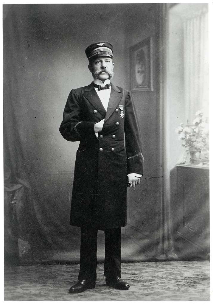 Harald Johan Knut Appelblom, stins i Skövde 1889-1910.