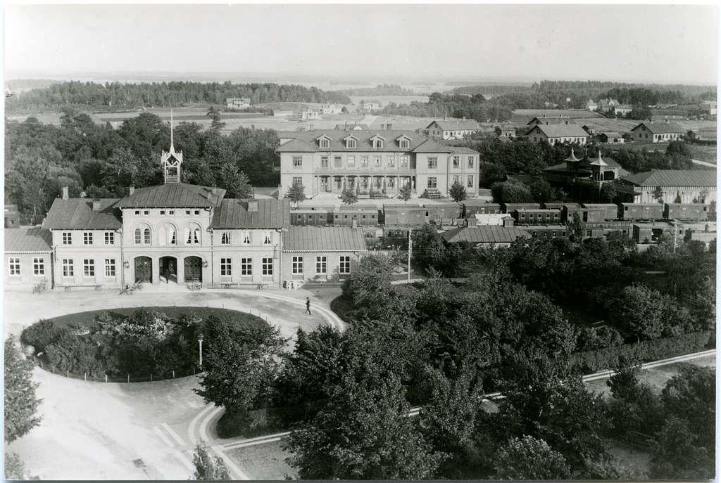 Skövde Station 1890.