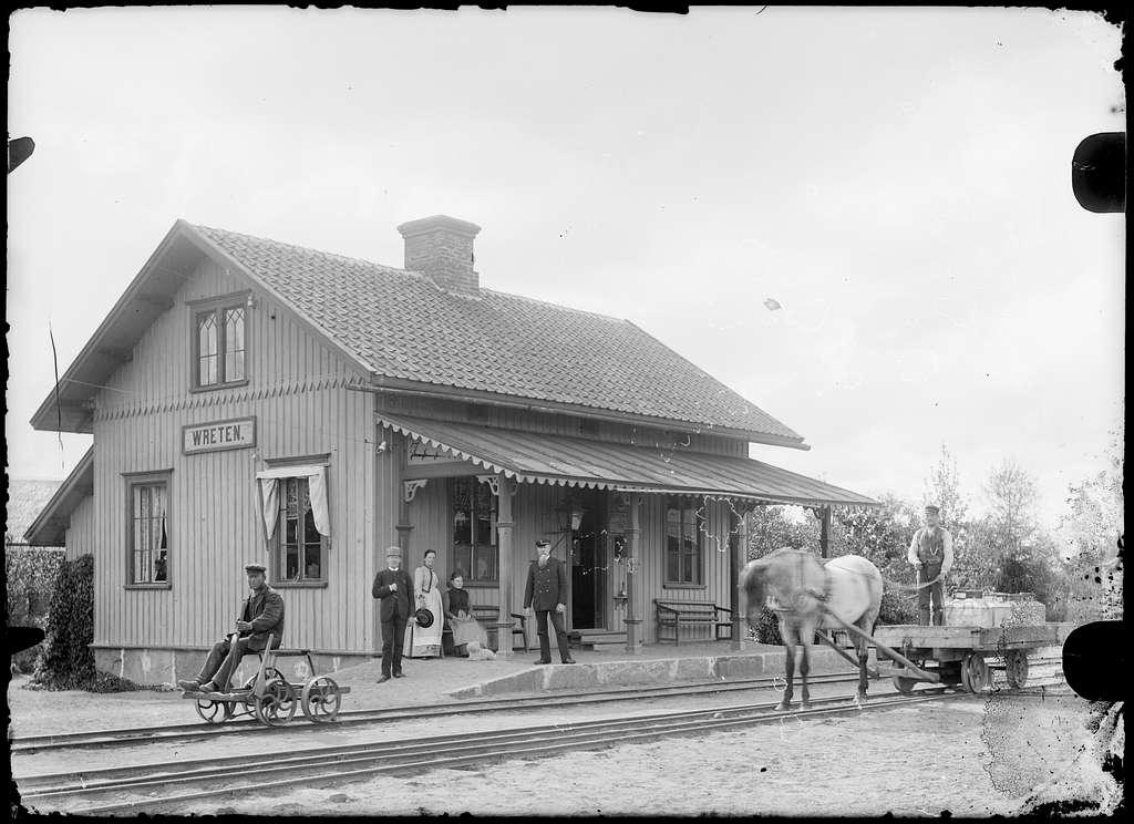 Vreten station.
