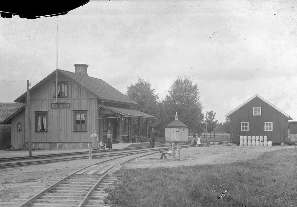 Wreten station