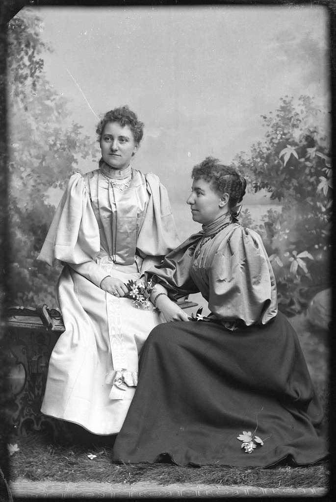 Fröknarna Hilda och Dagmar Eriksén