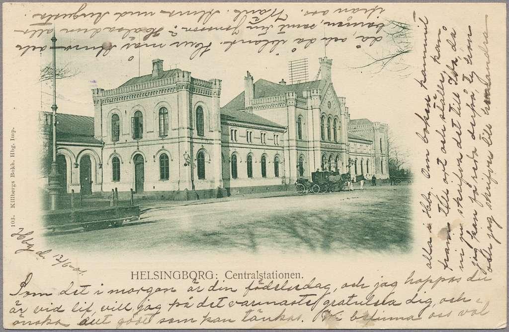 Helsingborg centralstation.
