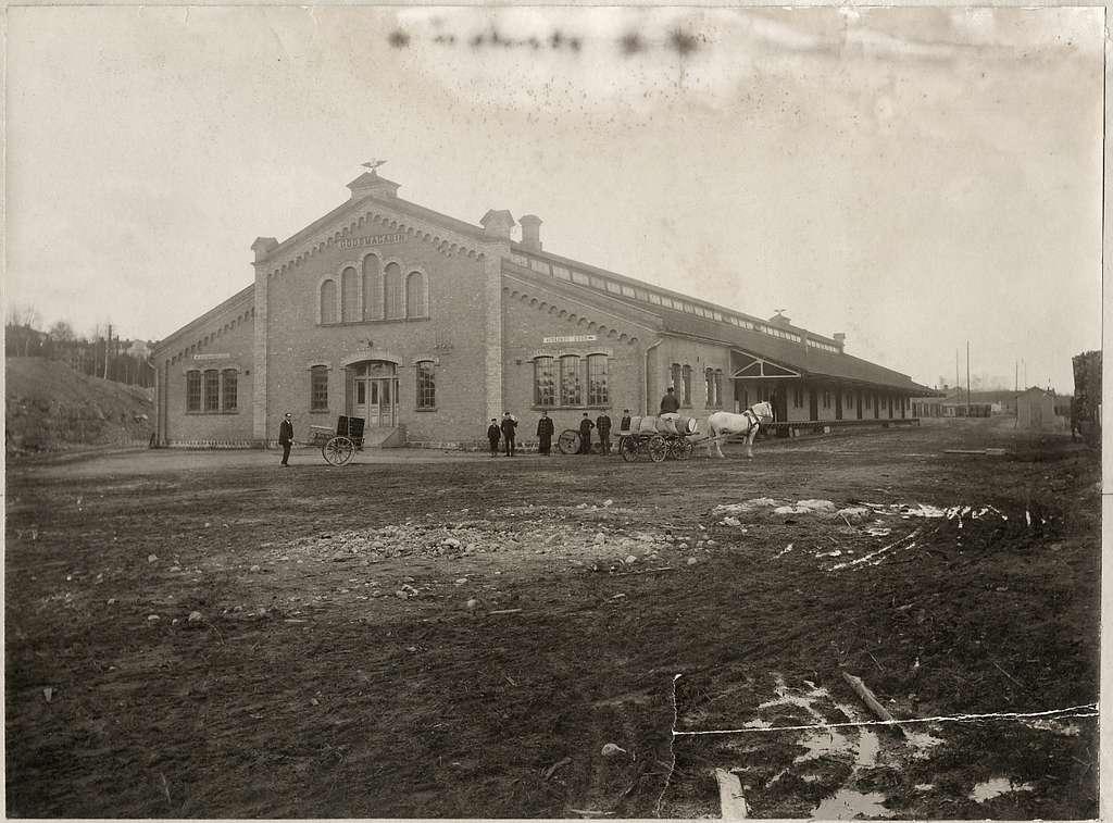 Falun godsmagasinet år 1898-1899
