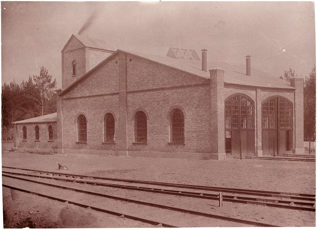 Lokomotivstallet vid Brösarp.