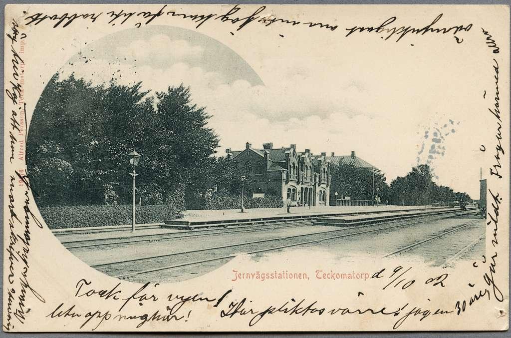 Teckomatorp station.