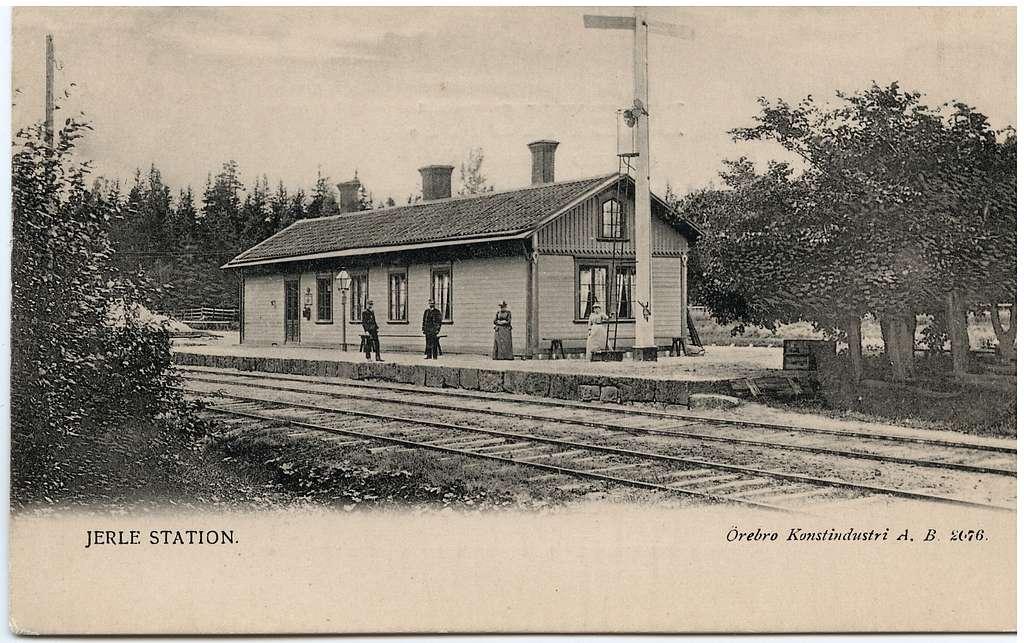 Järle station.