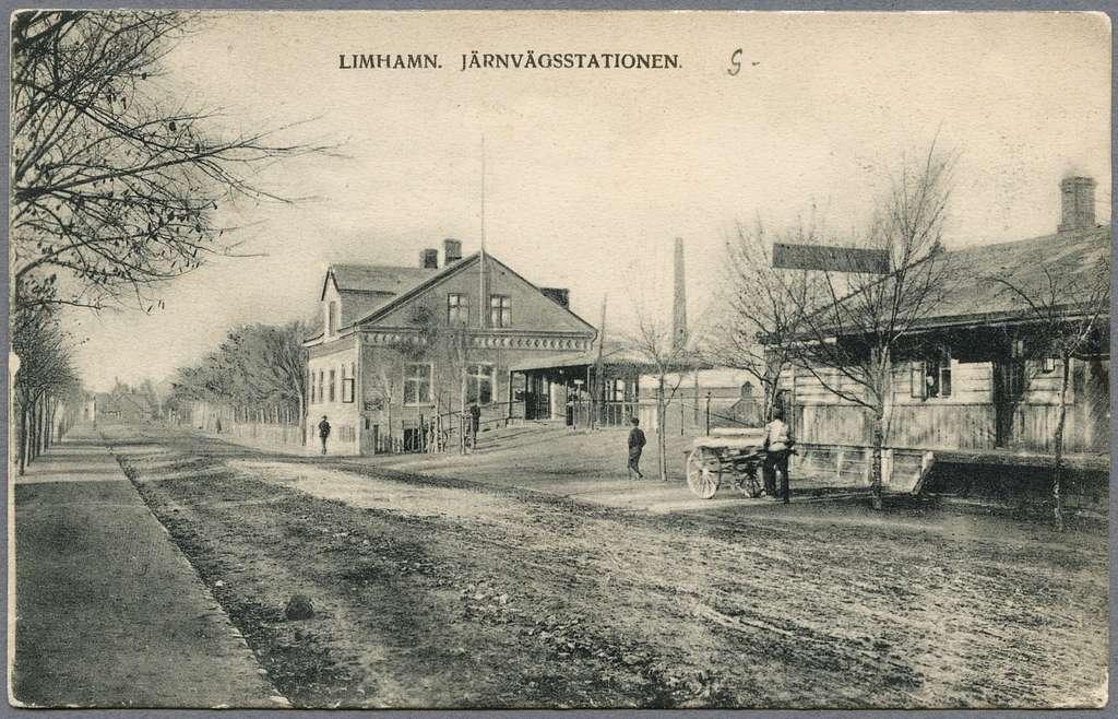 Limhamn station.