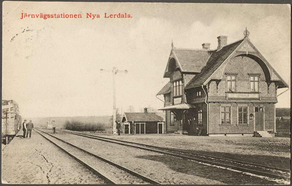 Lerdala station.