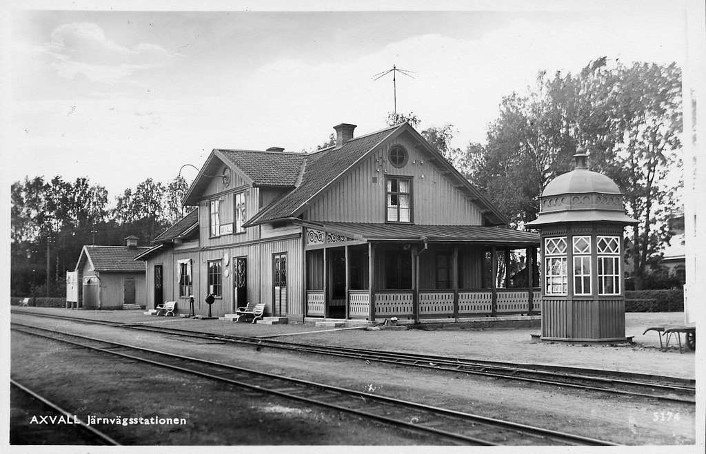 Axvall station.