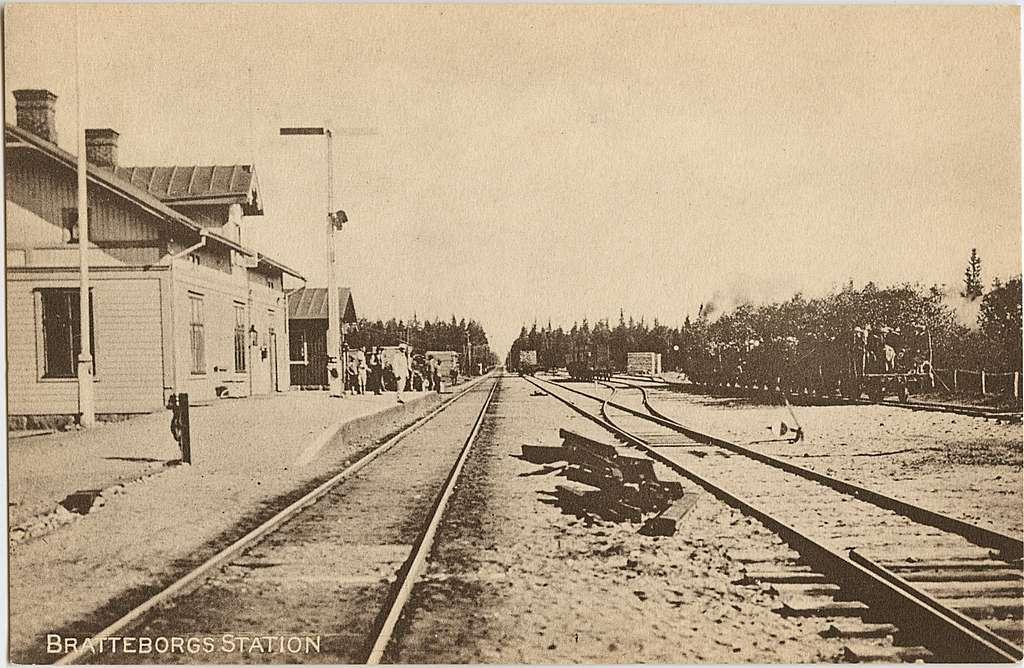 Bratteborg station.