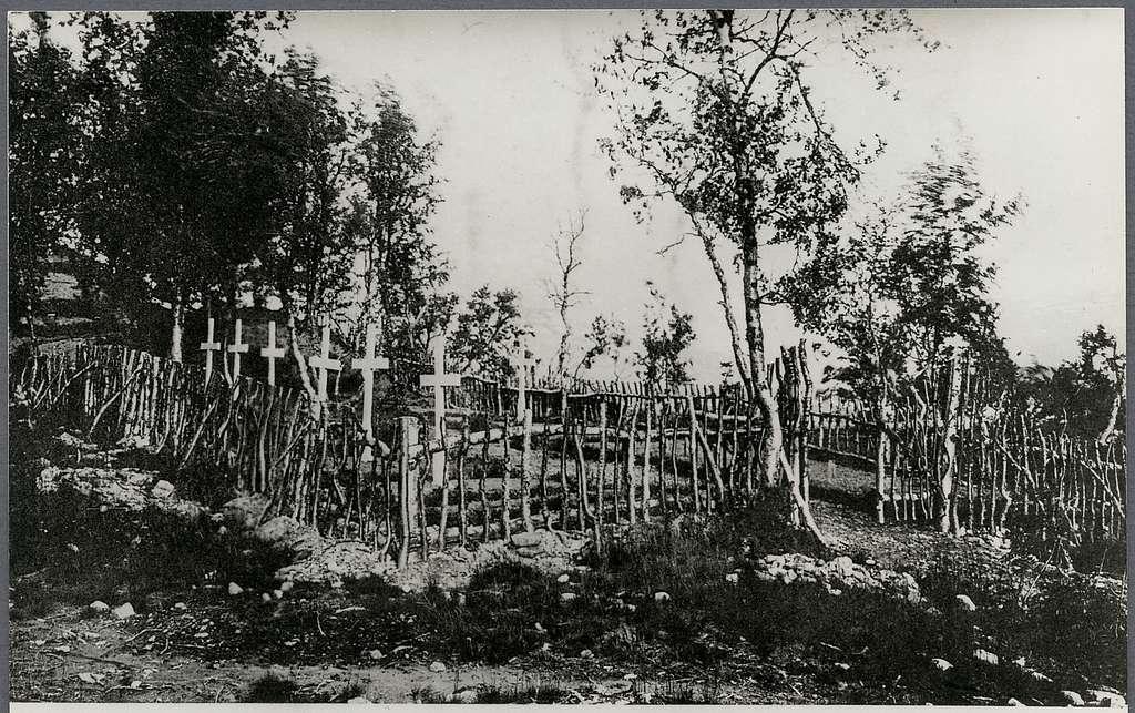 Rallarkyrkogården i Tornehamn.