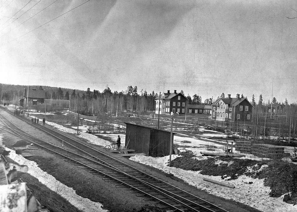 Stationen togs i bruk 1894