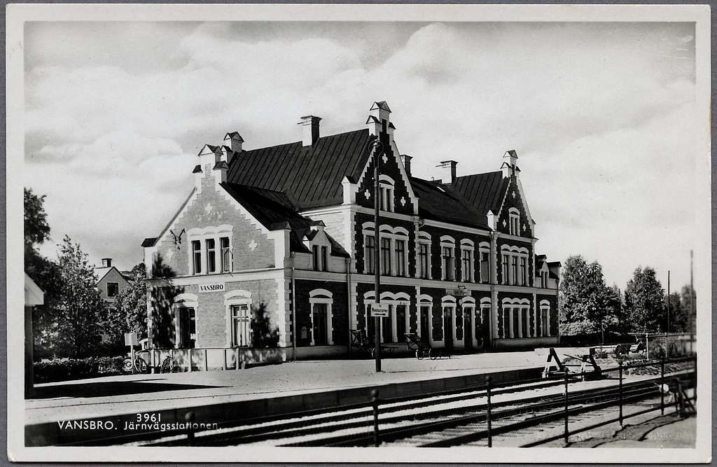 Stationshuset i Vansbro.