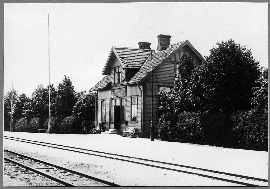 Sollebrunn station.