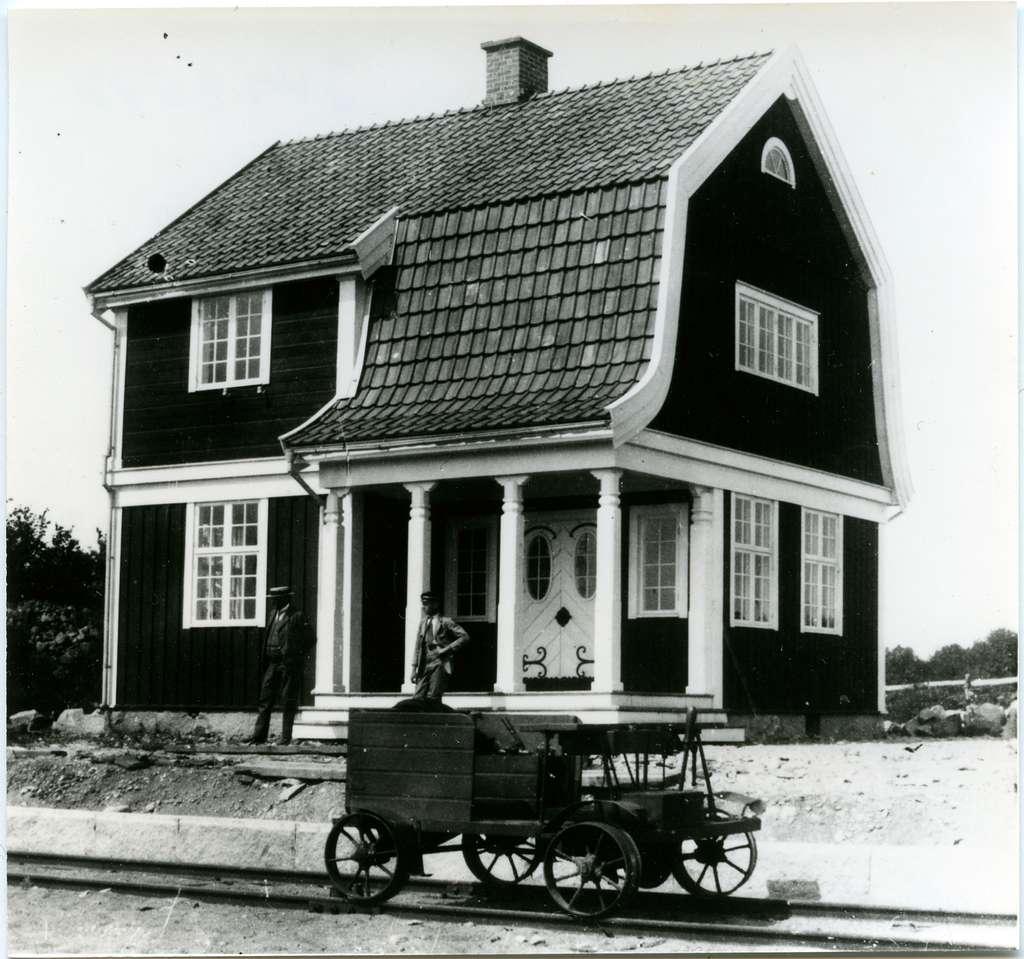 Öppnad 15/9 1917 ÖBlJ , Östra Blekinge Järnväg