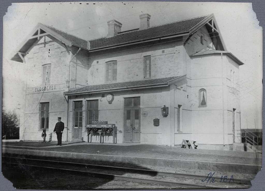 Eldsberga station.