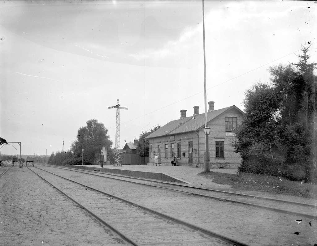 Hamneda station.