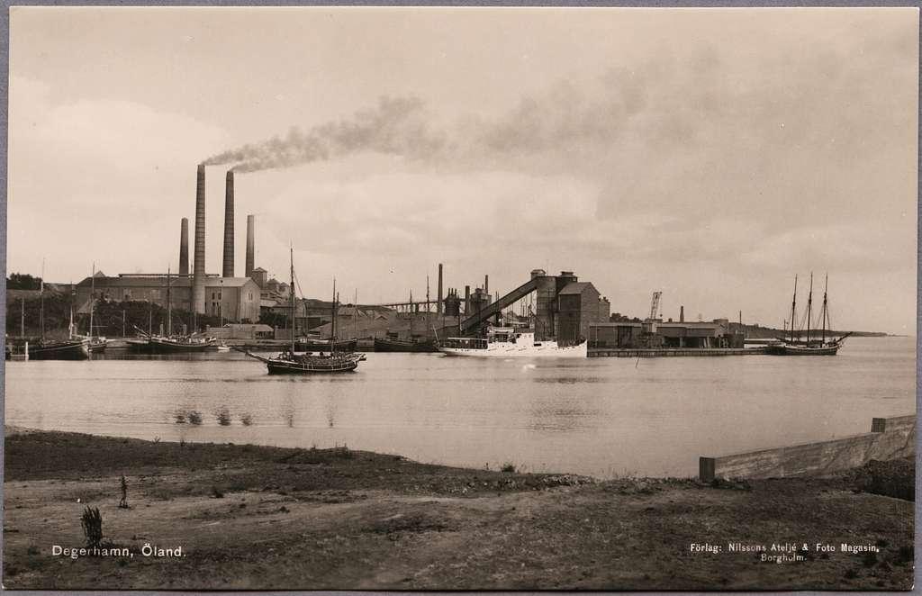 Degerhamns Cementfabrik, Öland.