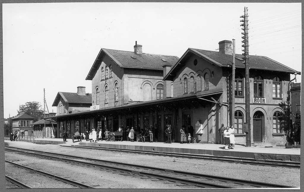 Höör station.