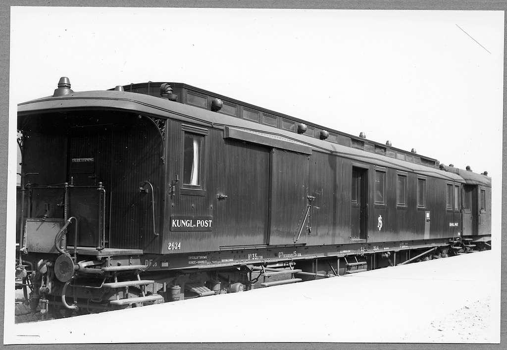 Post- och resgodsvagn, Statens Järnvägar, SJ BF03 2634.