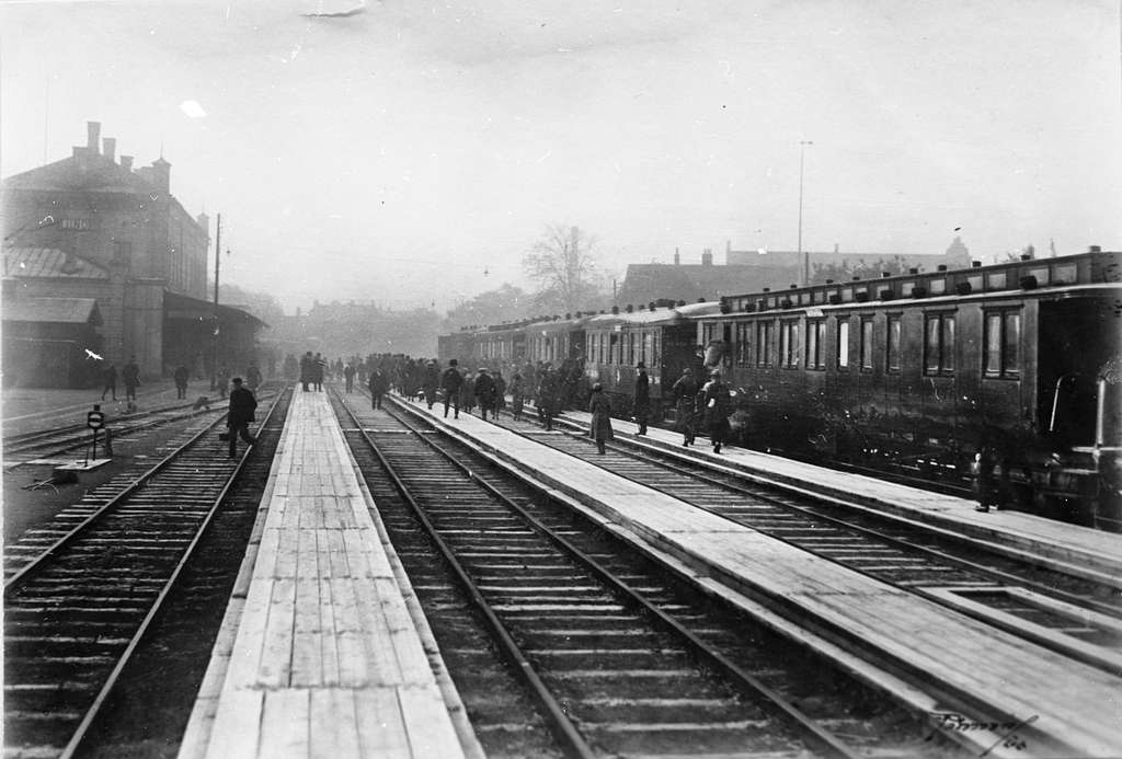 Stationen togs i bruk1858.