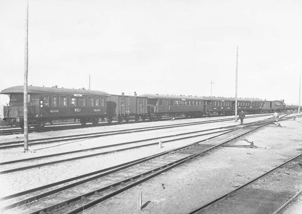 WBJ-tåg.WBJ , Varberg - Borås Järnväg
