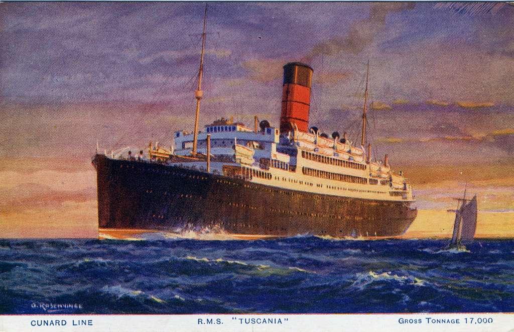 Cunard Line AgencyAmerican Express Co Inc....[]