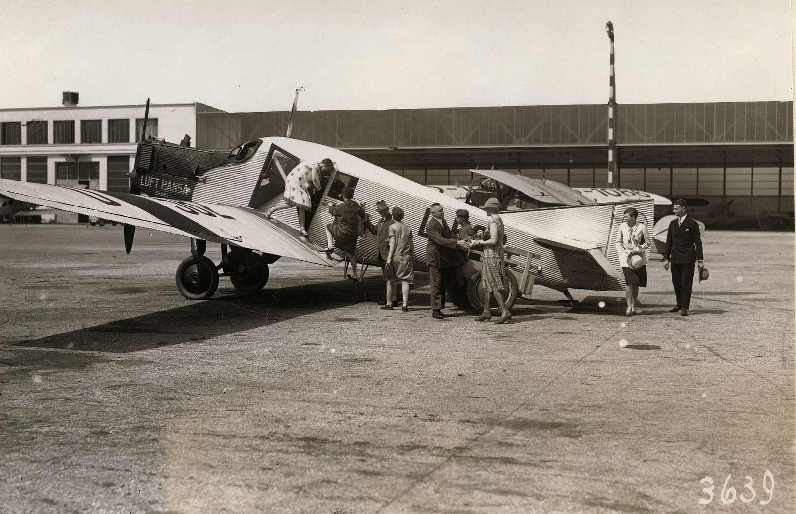 Tyskt trafikflyg, Junkersplan.